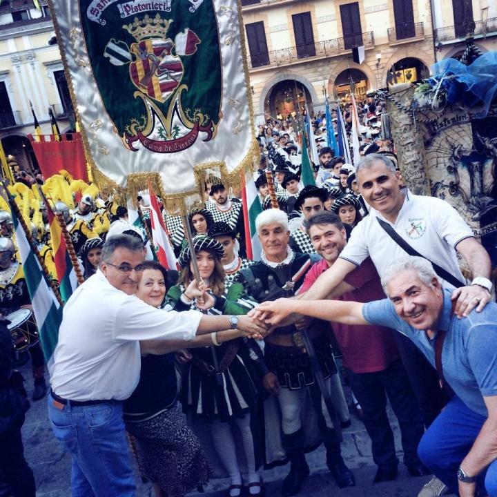 Delegazione spagnola in visita a Cava de' Tirreni per la Settimana Rinascimentale