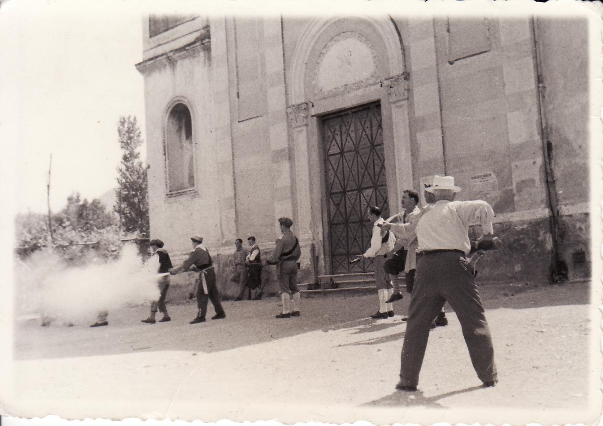Sul sagrato di Santa Maria del Rovo